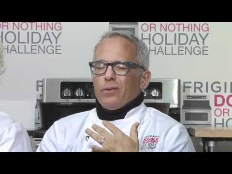 AmandasCookin.com interview with Anne Burrell and Geoffrey Zakarian