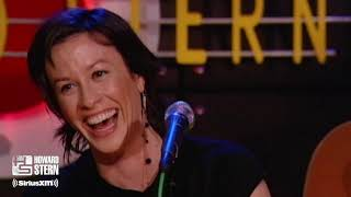 """Alanis Morissette """"Everything"""" on the Stern Show (2004)"""