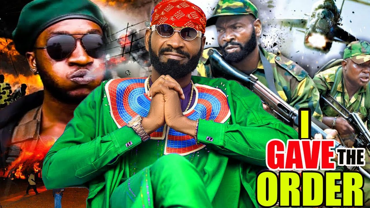 Download I Gave The Order (NEW ACTION MOVIE) - 2021 SYLVESTER MADU LATEST Nigerian NOLLYWOOD ACTION MOVIE