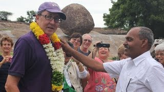 South India Full Day 3 - Mamallapuram monuments & Pondicherry