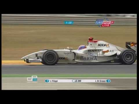 GP2 2009 Portugal - Last Two Laps