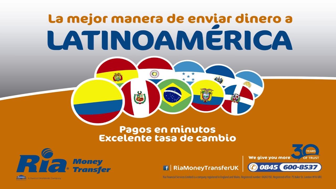 Ria Money Transfer Comercial