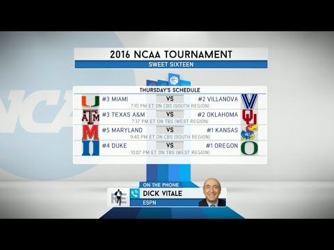 ESPN NCAA Basketball Analyst Dick Vitale on March Madness & More - 3/23/16