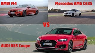 audi rs5 coupe vs bmw m4 vs amg c63s