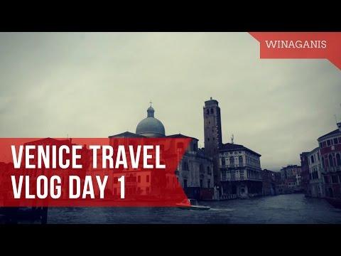 VENICE ITALY travel day 1 | WinaGanis | English Sub