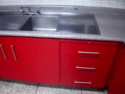 Cocina de lamina proceso de remodelaci n terminado - Laminas decorativas para cocinas ...