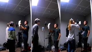 Процесс записи песни и история про водичку
