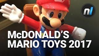 Unboxing Super Mario McDonald's Happy Meal Toys 2017