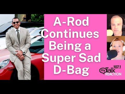 A-Rod Continues Being A Sad D-Bag