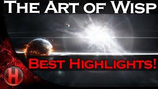 dota 2 the art of wisp best of highlights movie