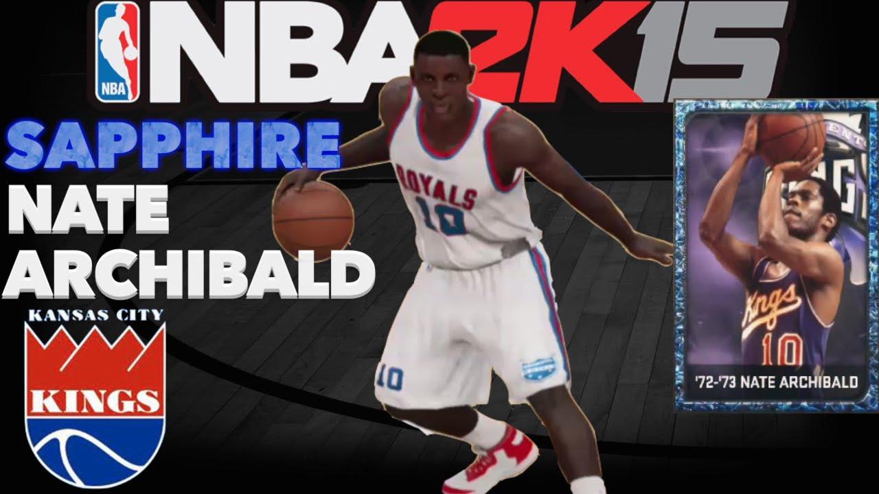 NBA 2K15 Sapphire Nate Archibald Creation & Who s Next