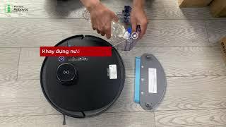 Review Robot hút bụi Ecovacs DEEBOT OZMO 950 phiên bản quốc tế