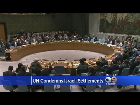 US Abstains In UN Security Council Vote Condemning Israeli Settlements In West Bank