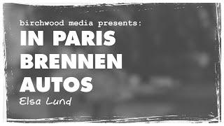 Musik - In Paris brennen Autos COVER von Elsa Franzl