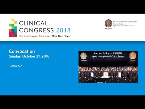 American College of Surgeons 2018 Convocation