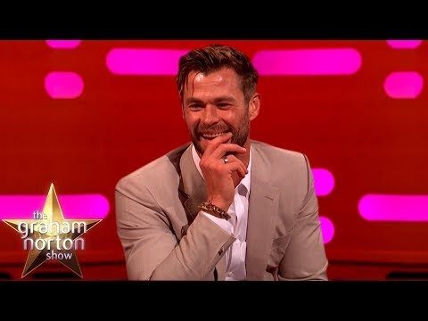 Chris Hemsworth&39;s Son Channels His Inner Thor  The Graham Norton Show