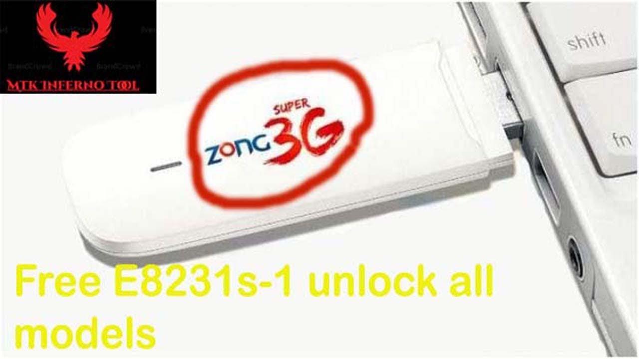 Free Unlock Huawei E8231 3G WiFi Wingle All Model Unlock | GSM INFERNO