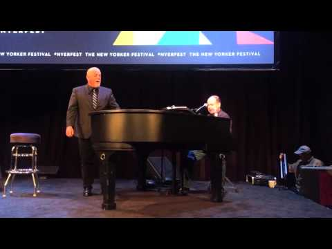 "Howard Klein with Billy Joel - ""Honesty"" at SIR Stage 37 NYC, 10/4/2015"