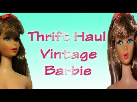 Thrift Haul | Vintage Barbie and more
