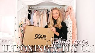HUGE SPRING ASOS UNBOXING & TRY ON ~ SPRING FASHION EDIT ~ Freddy My Love