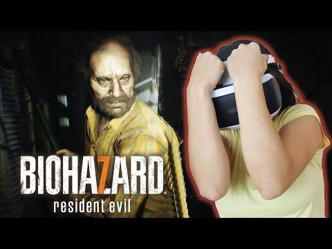 INMERSIÓN A OTRO NIVEL | Resident Evil 7 - PS4 Pro (Playstation VR Gameplay)