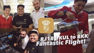 Royal Jordanian Dreamliner Crown Class RJ181 KUL to BKK | Super Nice Crews.. Flight VLOG!