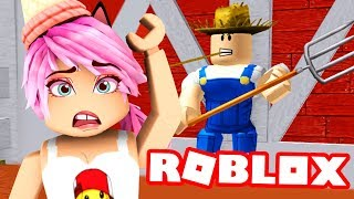 ESCAPE THE EVIL FARM ? Roblox Escape The Farm Obby
