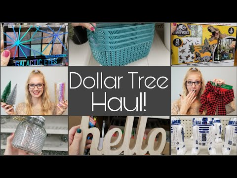 Huge Dollar Tree Haul • New Christmas Items And More!