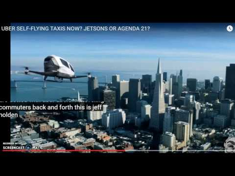 Uber & Bell Plan Flying Taxis Dallas by 2020