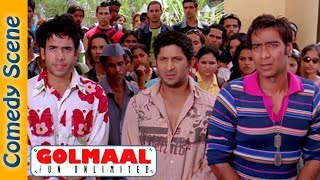 Best Of Golmaal Fun Unlimited Comedy Scenes - Ajay Devgn - Arshad Warsi -  IndianComedy