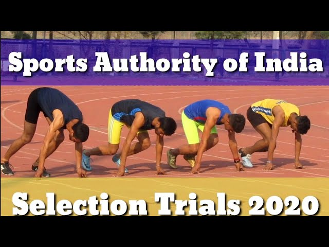 Sports Authority of India Selection Trials ( Physical Test ) 2020