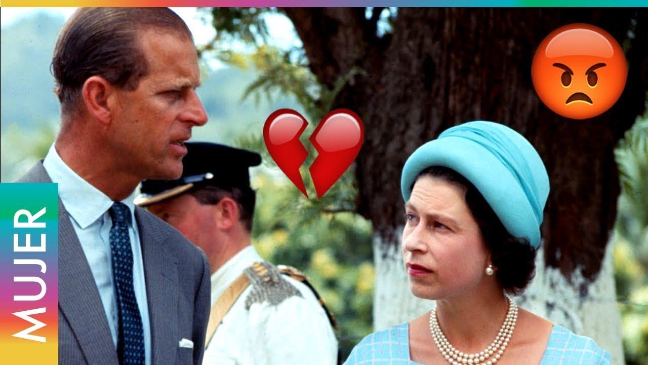 La Reina Isabel Perdono 6 Infidelidades A Su Esposo Felipe Youtube