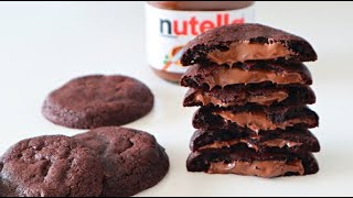 누텔라 초콜릿 쿠키 : Nutella chocolate cookies |Brechel