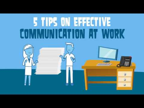 5 Tips On Effective Communication At Work