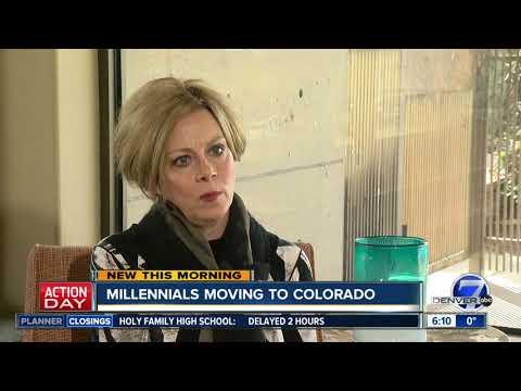 Millennials moving to Colorado