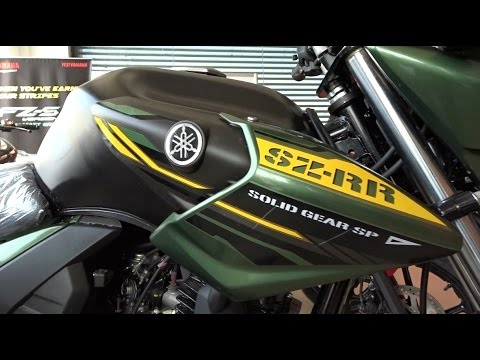 Yamaha SZ RR version 2.0 Review Special Edition Matt Green | New Model | India