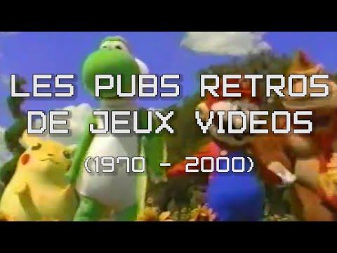 Les Pubs de Jeux Vidéos Rétros ! (de 1970 à 2000) - PVR #5