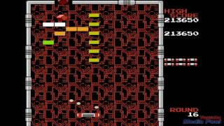 1987 Arkanoid (NES) Game Playthrough Retro Game