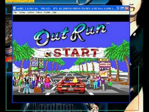 Dreamcast (dosbox) - Out Run