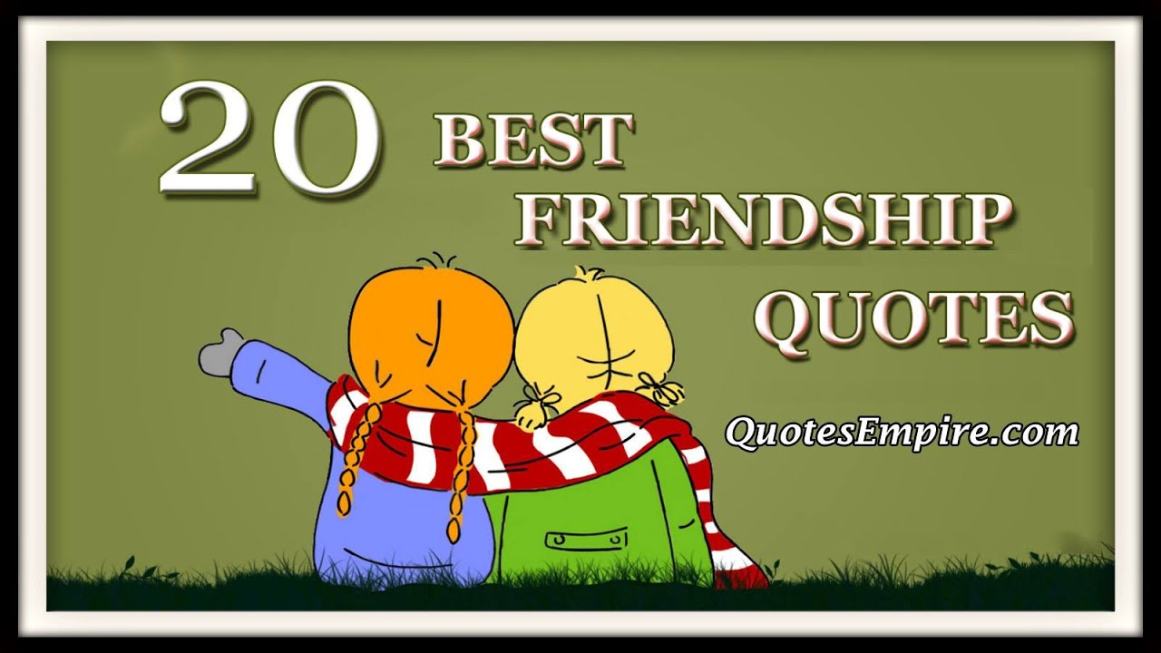 Happy Friendship Day Quotes   YouTube