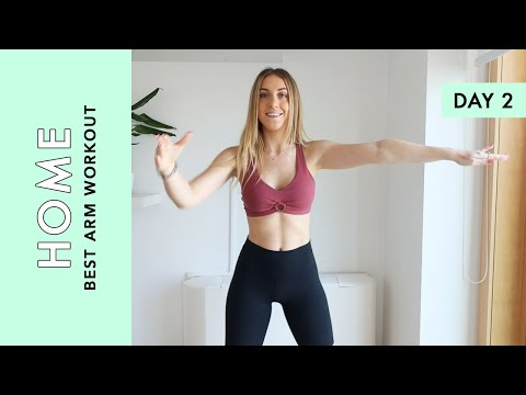 Day 2: BEST Arm Workout - At Home (Quarantine Challenge)