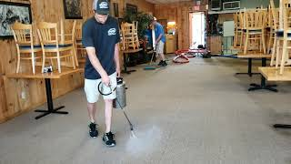 Better than Sticky Buns! Ooey gooey carpet Cleaning