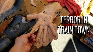 How To Make A Haunted House | The Bloodshed Brothers | Terror In Train Town Haunted Attraction Tour
