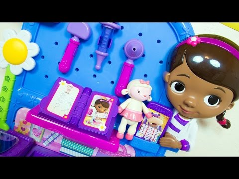 Doc McStuffins Toys Get Better Checkup Center Playset Disney Toy
