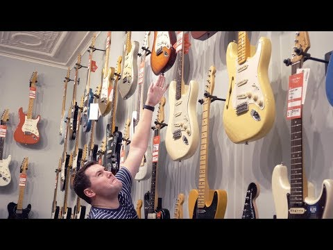 Guitar Store Stereotypes