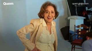 Laura Cardoso: bastidores da capa da QUEM
