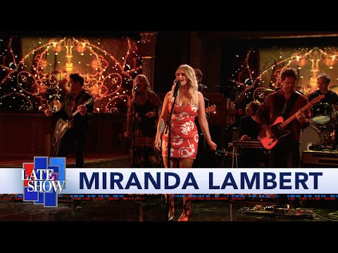 Double-L - Watch: Miranda Lambert performs Tequila Does on The Late Show