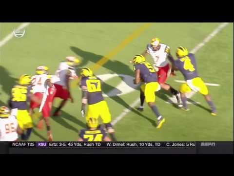 2016 Michigan Football Highlights v. Maryland