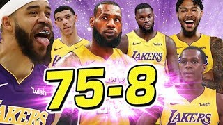 THE LAKERS WILL MAKE HISTORY! NBA 2K18