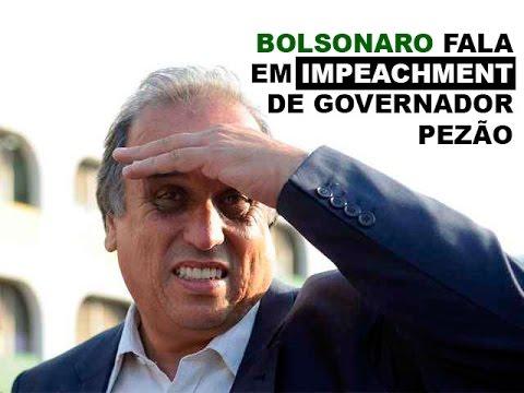 BOLSONARO FALA EM IMPEACHMENT DE GOVERNADOR PEZÃO - YouTube
